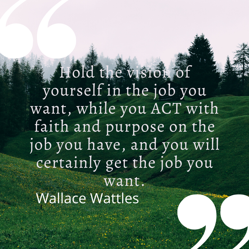 wallace wattles quotes science of getting rich