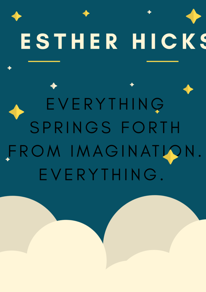 esther hicks quotes-imagination