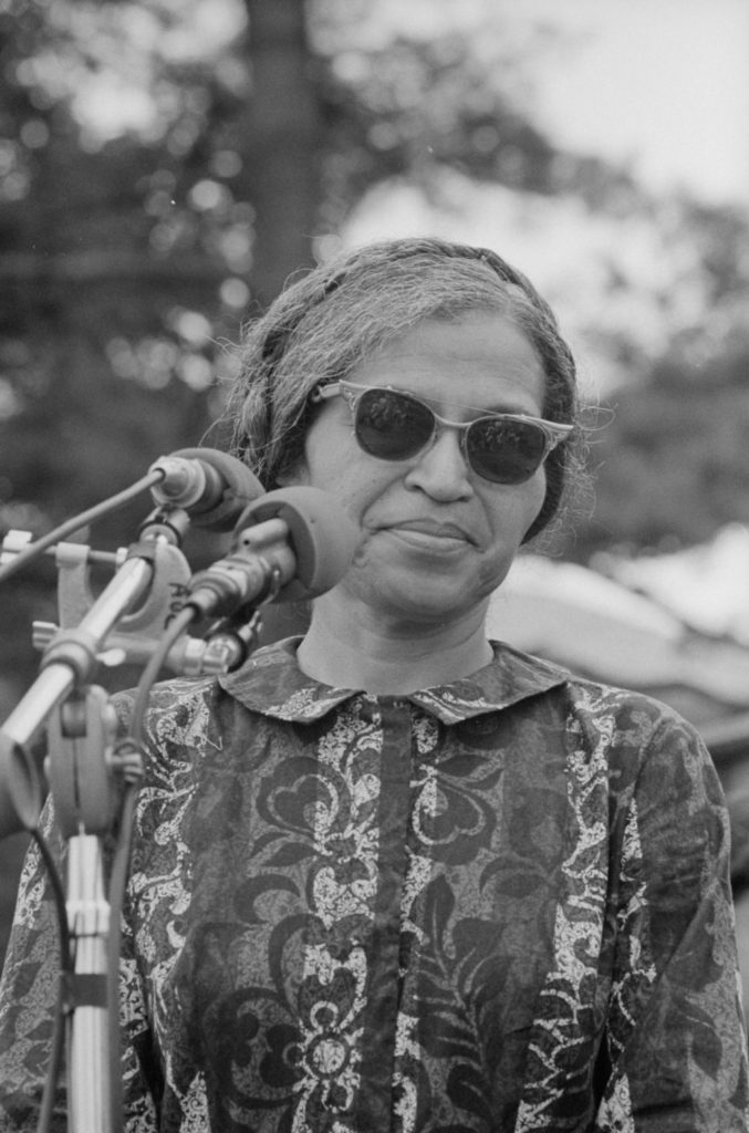 Rosa Parks at Poor Peoples March