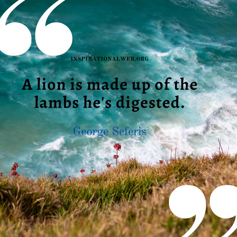lion quotes
