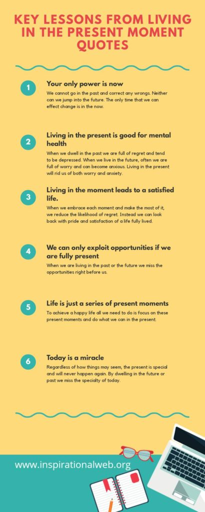 living in the present moment quotes