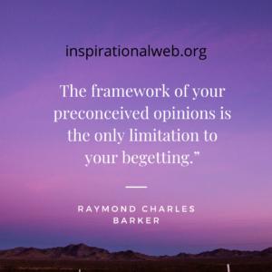 raymond charles barker quotes