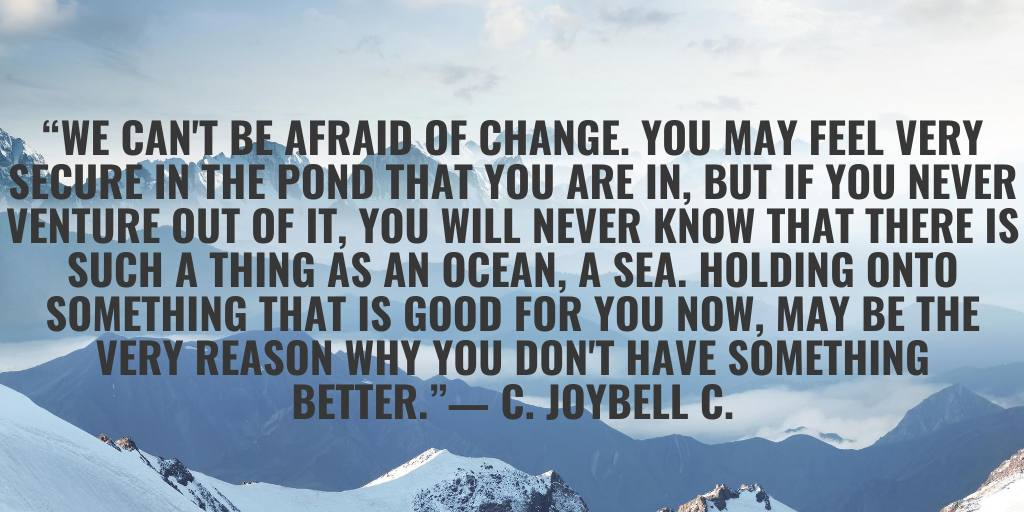 why change is good
