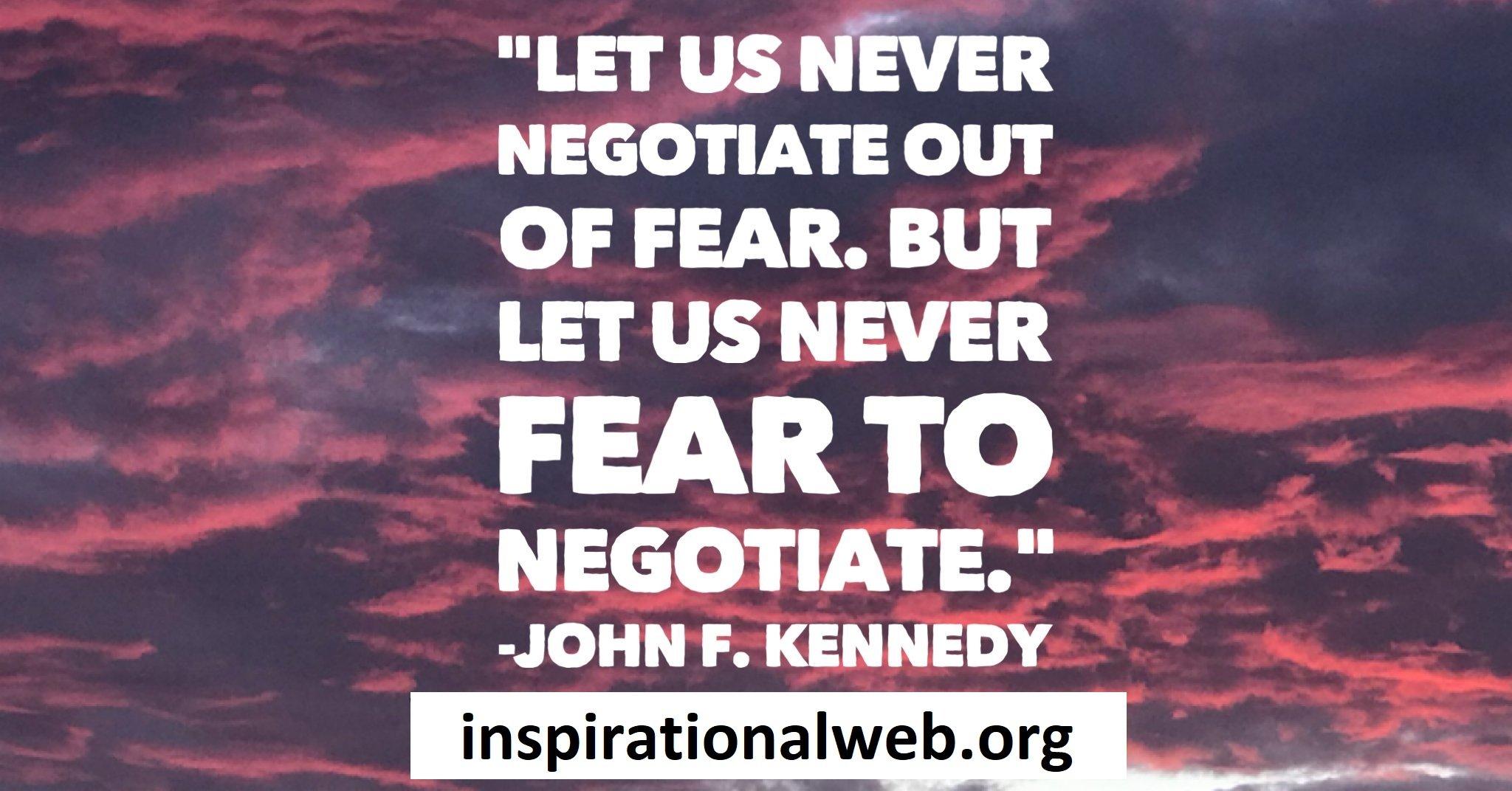 Negotiation Quotes