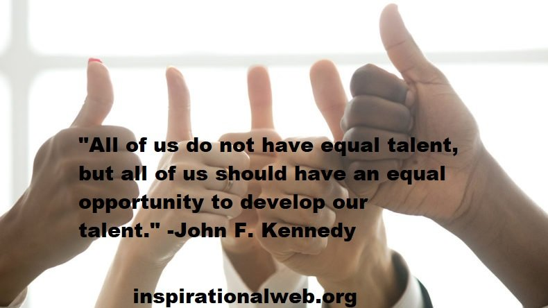 Equal Opportunity Quotes