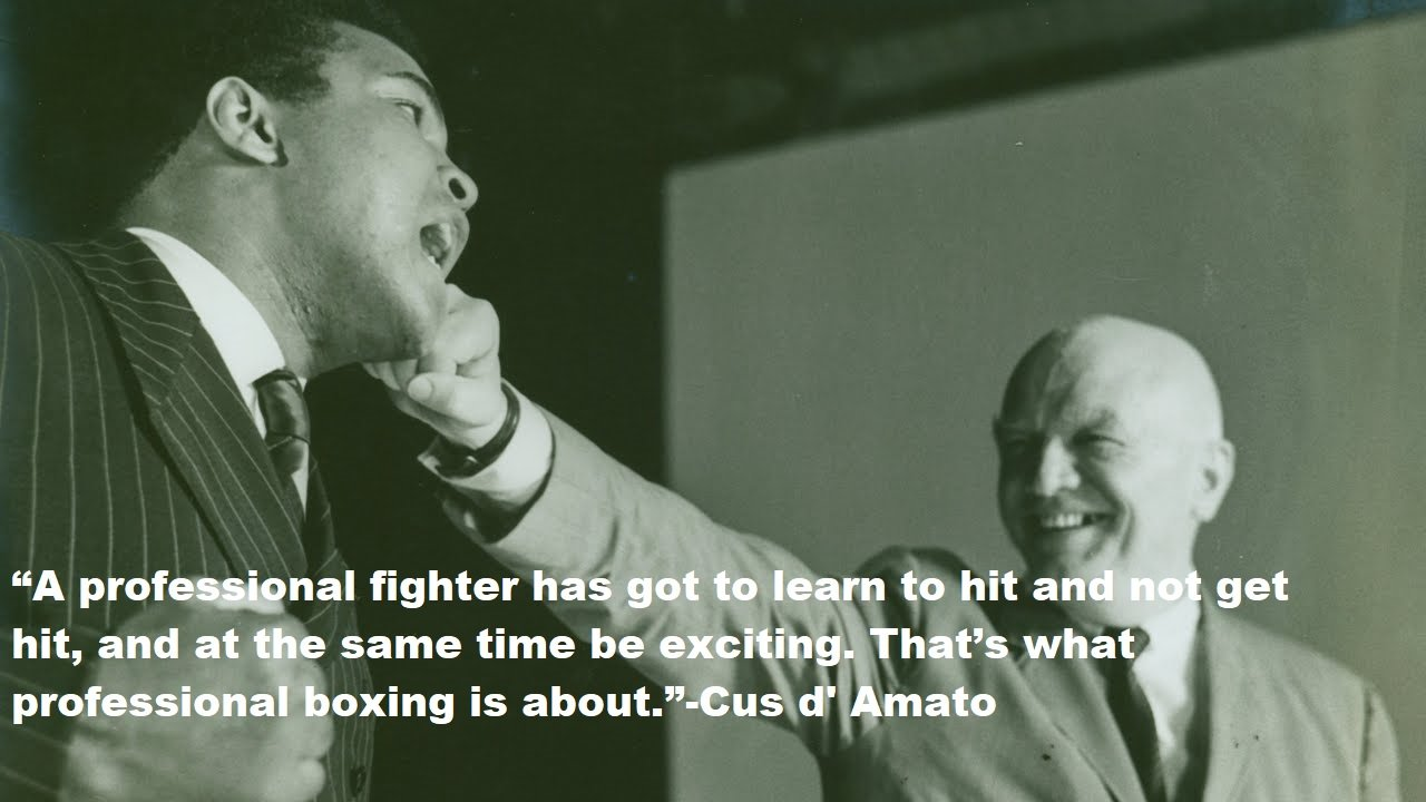Cus d' Amato Quotes