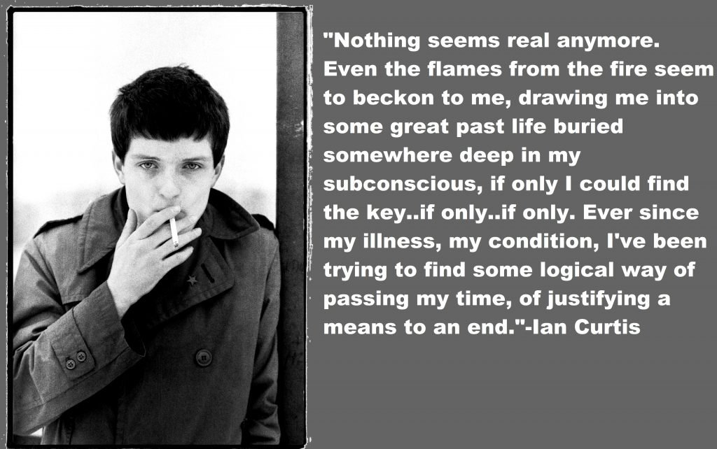 Ian Curtis Quotes