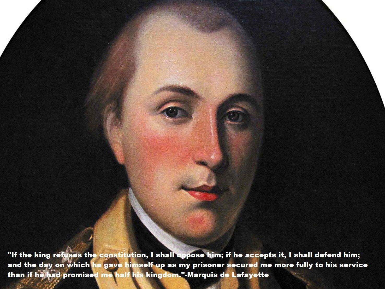 Marquis De Lafayette Quotes
