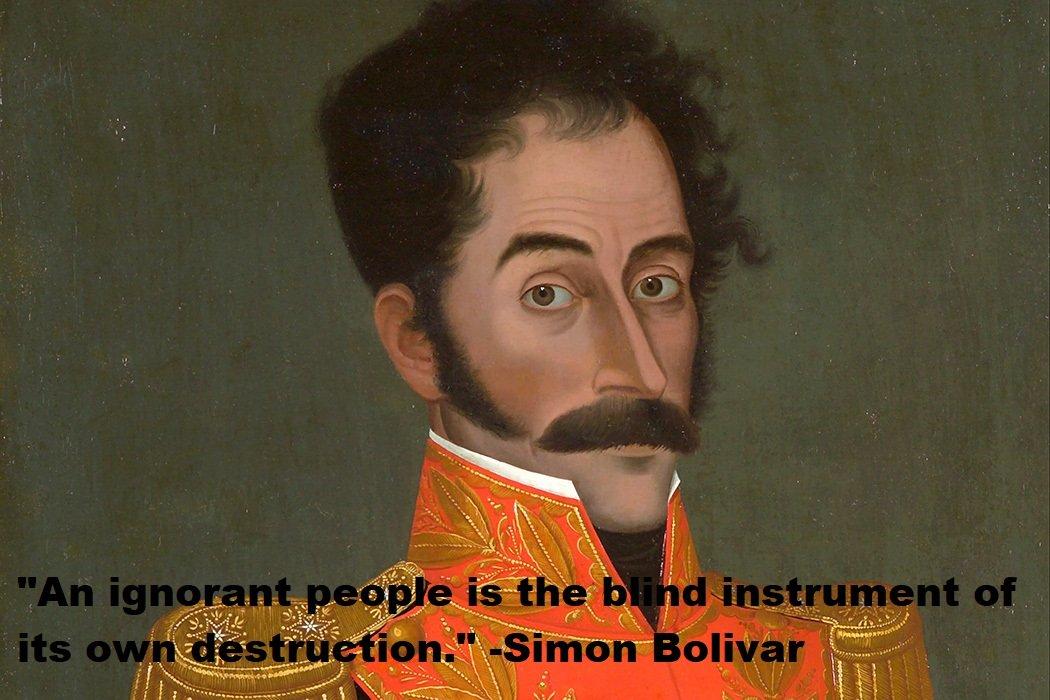 Simon Bolivar Quotes