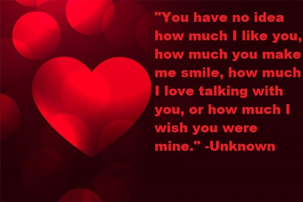 I Wish You Were Mine Quotes