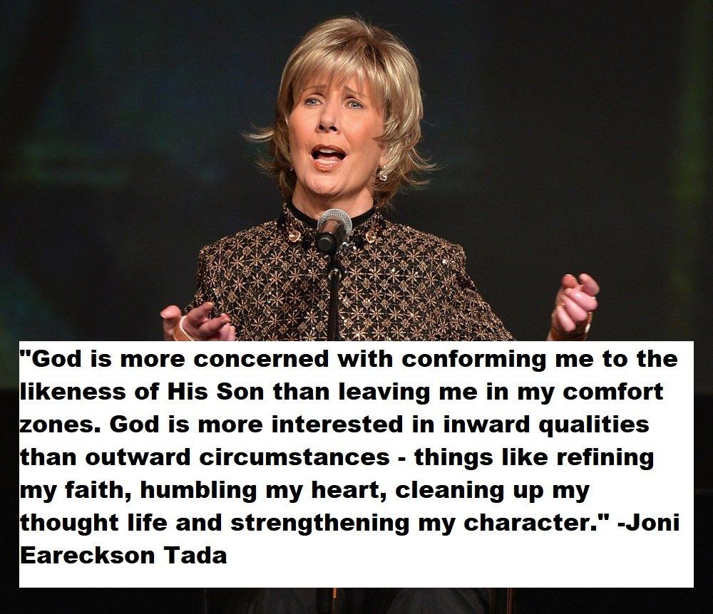 Joni Eareckson Tada Quotes