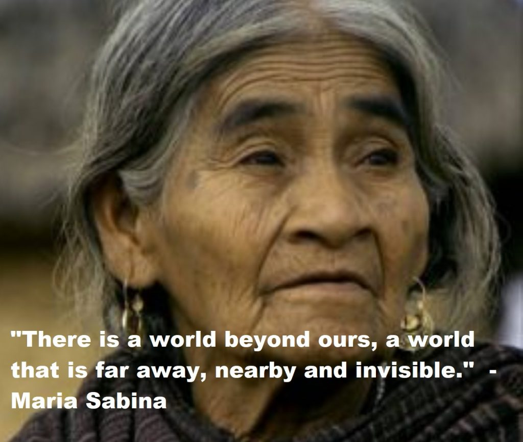 Maria Sabina Quotes