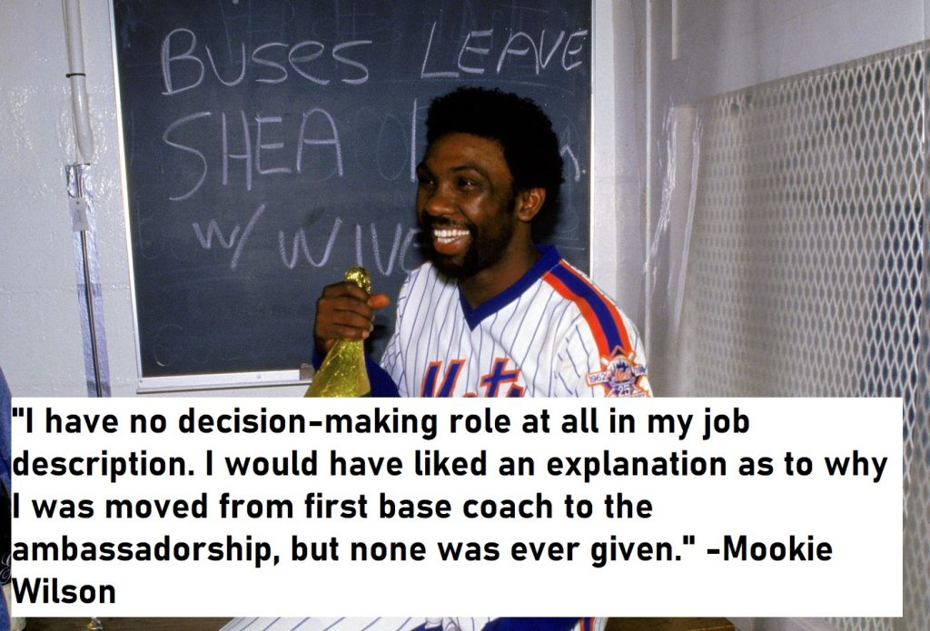 Mookie Wilson Quotes