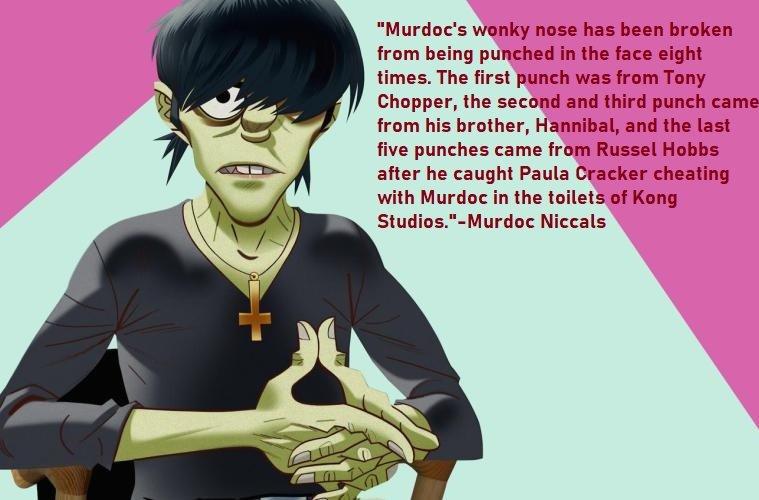 Murdoc Niccals Quotes