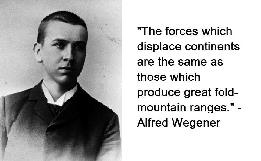 Alfred Wegener Quotes