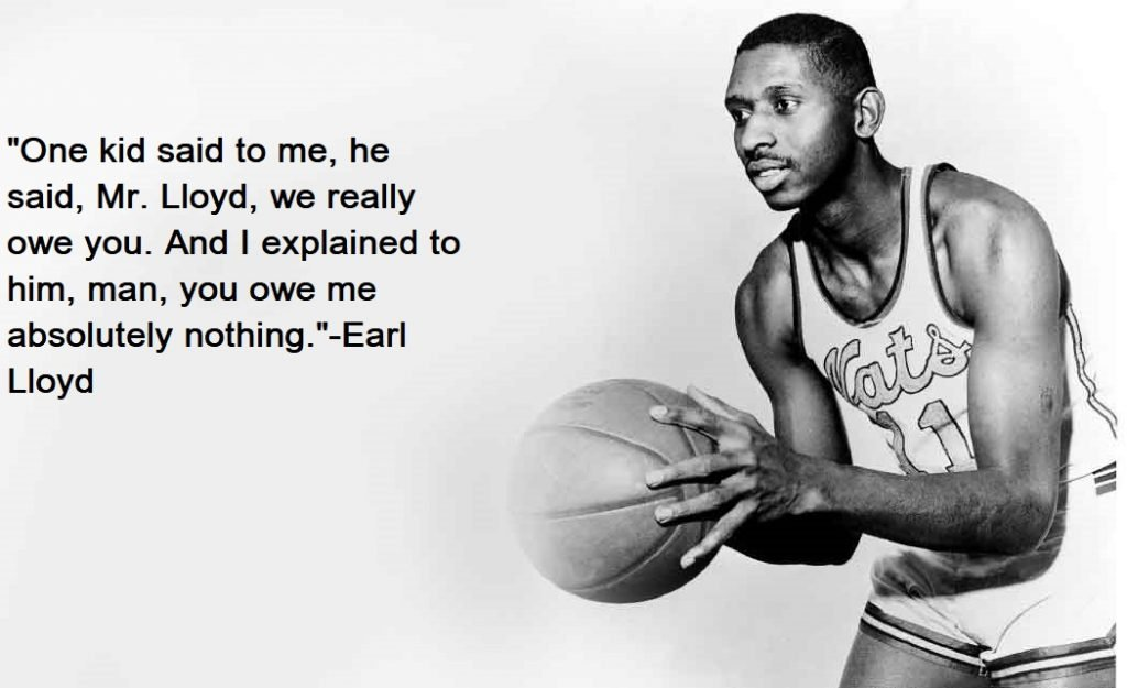 Earl Lloyd Quotes