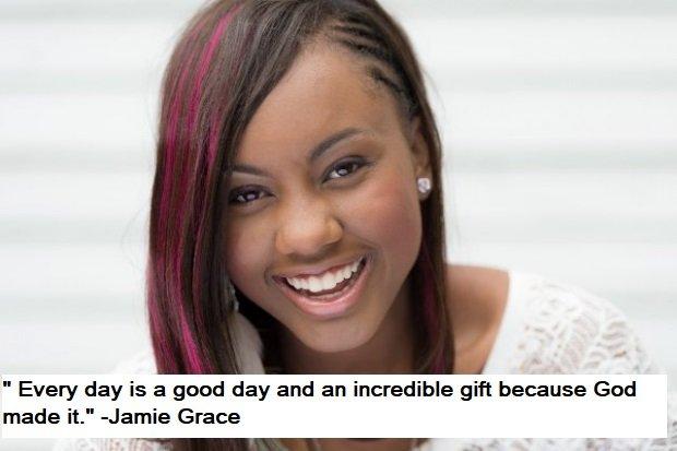 Jamie Grace Quotes