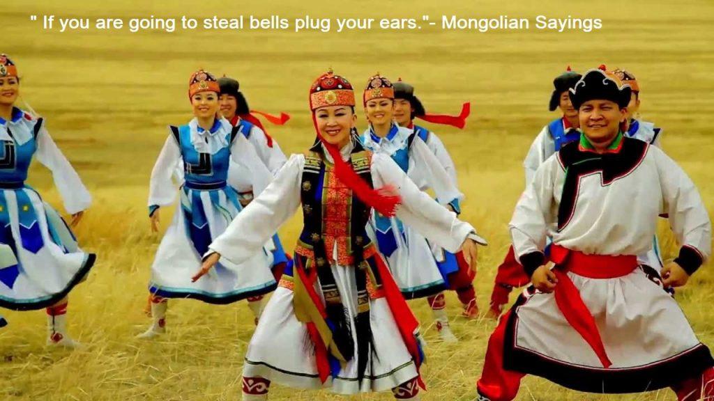 Mongolian Sayings