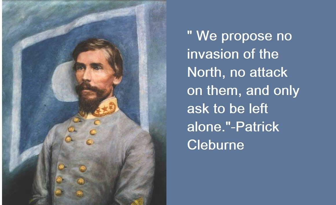 Patrick Cleburne Quotes