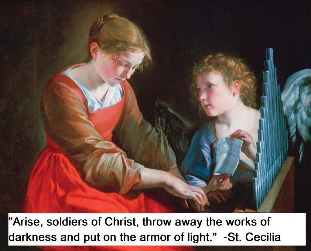 St. Cecilia Quotes