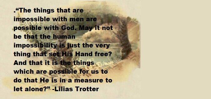 Lilias Trotter Quotes