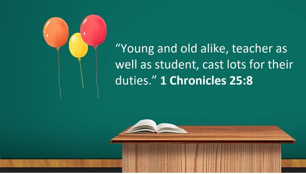 Inspiring Bible Verses for Teachers