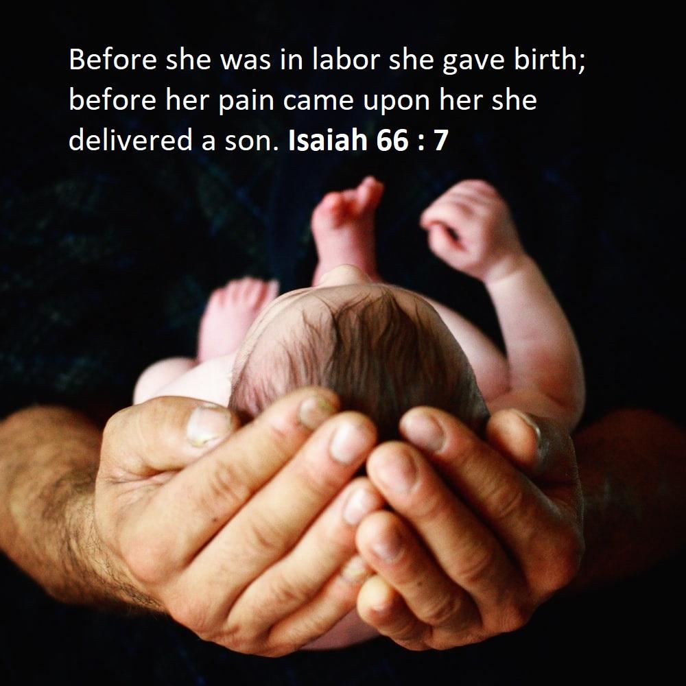 Bible Verses on Childbirth