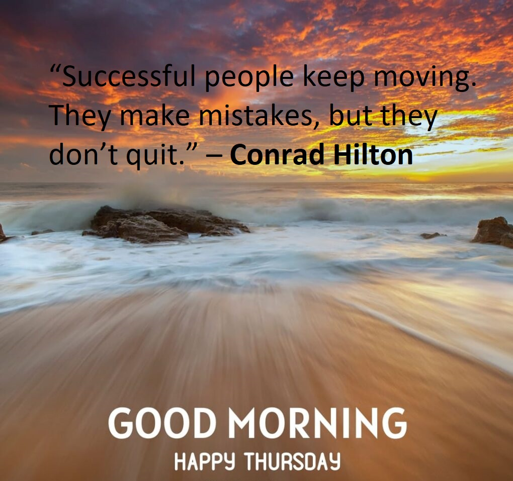 Inspiring Thursday Quotes