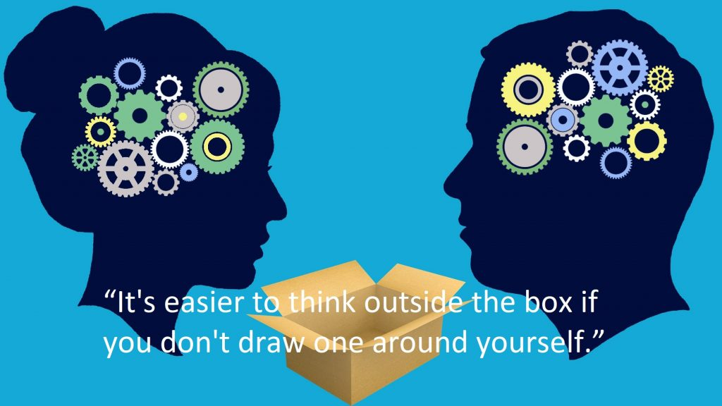 Think Outside the Box Quotes