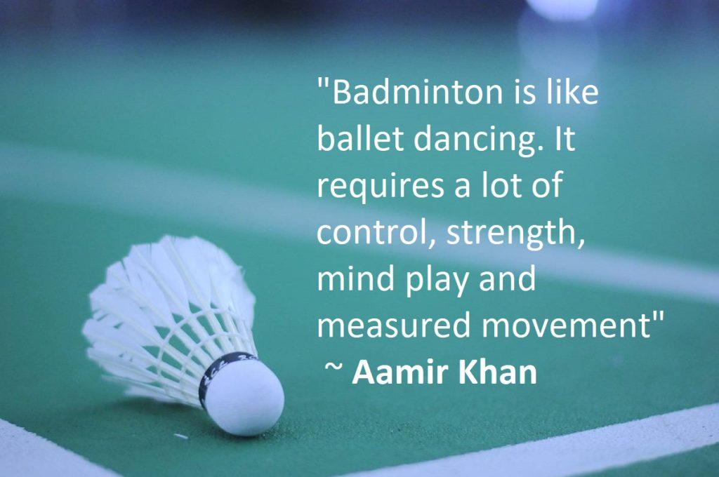 Badminton Quotes