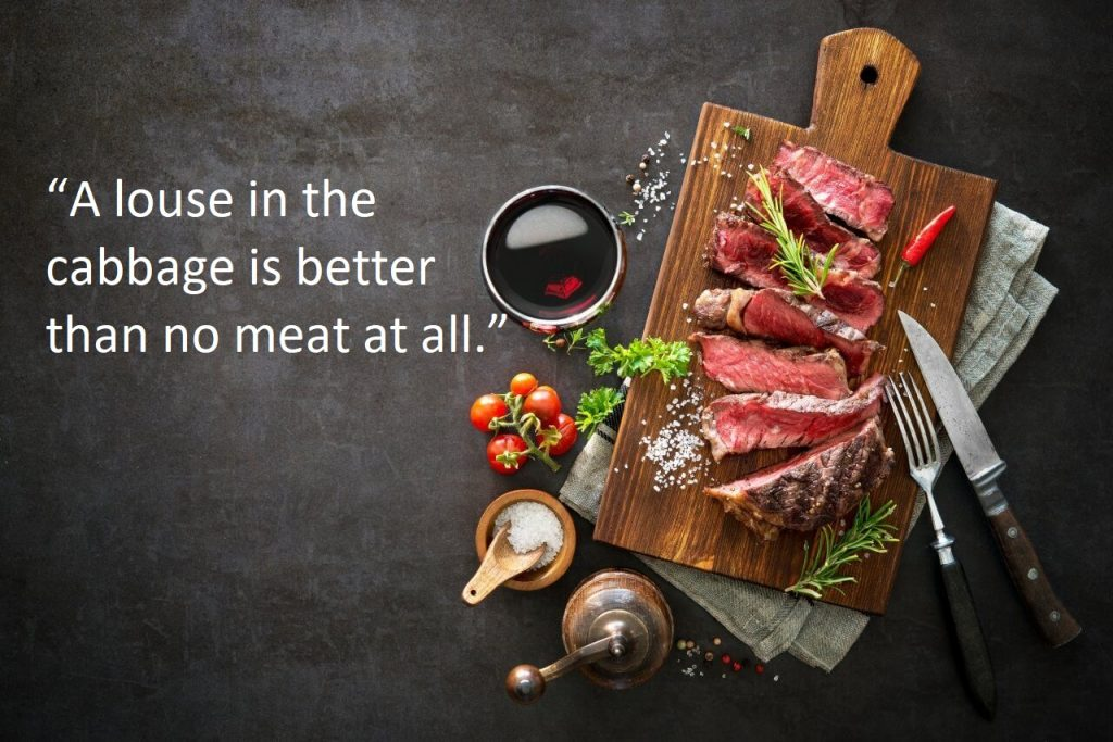 Meat Quotes