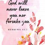 Hebrews 13 vs 5